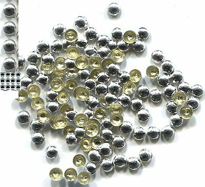 COPPER Made Nailheads DOME  5mm  Hot Fix  GOLD 144 PC  1 gross