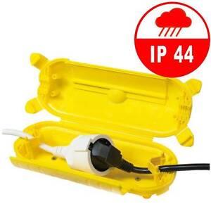 Logilink Outdoor Schutz Box F R Stromstecker Verl Ngerung