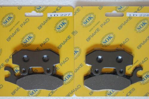 2016-2017 Wolverine700 REAR BRAKE PADS fit YAMAHA YXE 700 Wolverine R-spec