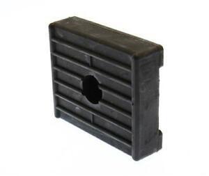 Gummiauflage Auflage Bootstrailer Bootsanhänger Bootsrolle Gummirolle schwarz
