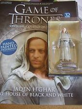 RARE GAME OF THRONES # 32 JAQEN H'GHAR HOUSE OF B & W AFA 3611 EAGLEMOSS