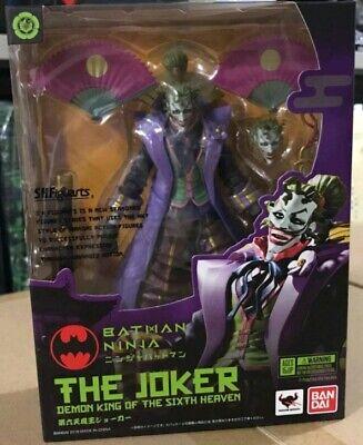 S H Figuarts Batman Ninja The Joker Action Figure Dc Comics Bandai Shf Original Ebay