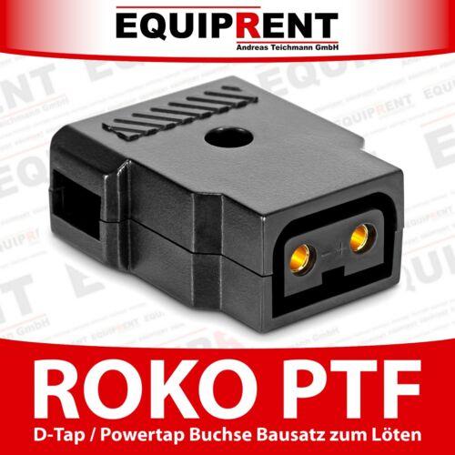 EQ916 ROKO PTF D-Tap Buchse Bausatz zum Löten von Kabeln