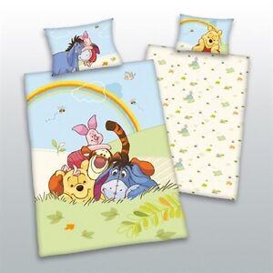 Kinder-Bettwaesche-Winnie-Pooh-100x135-40x60-cm