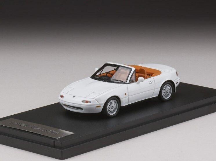 para proporcionarle una compra en línea agradable Mark 43 43 43 PM4344VW 1 43 Eunos Roadster (NA8C) V-solo Especial blancoo  Descuento del 70% barato