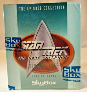 TC Star Trek 30 years Phase 3 Hobby Box 36 Packs