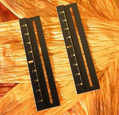 2 PLATTEN TONHÖHE GOLD PLATTENSPIELER TECHNICS 1200//1210 MK2,MK3,M3D,MK4,MK5,MK6