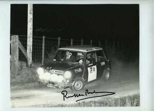 Russell-Brookes-Mini-Cooper-Nutcracker-Rally-1971-Signed-Photograph-1