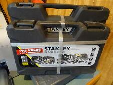 Stanley 226-Piece + 70-Piece Bonus Mechanic Set, Home Improvement Tools