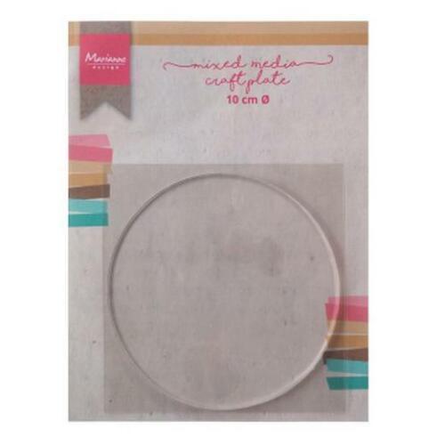 Marianne Design Gel Printing Plate 10cm Circle LR0016