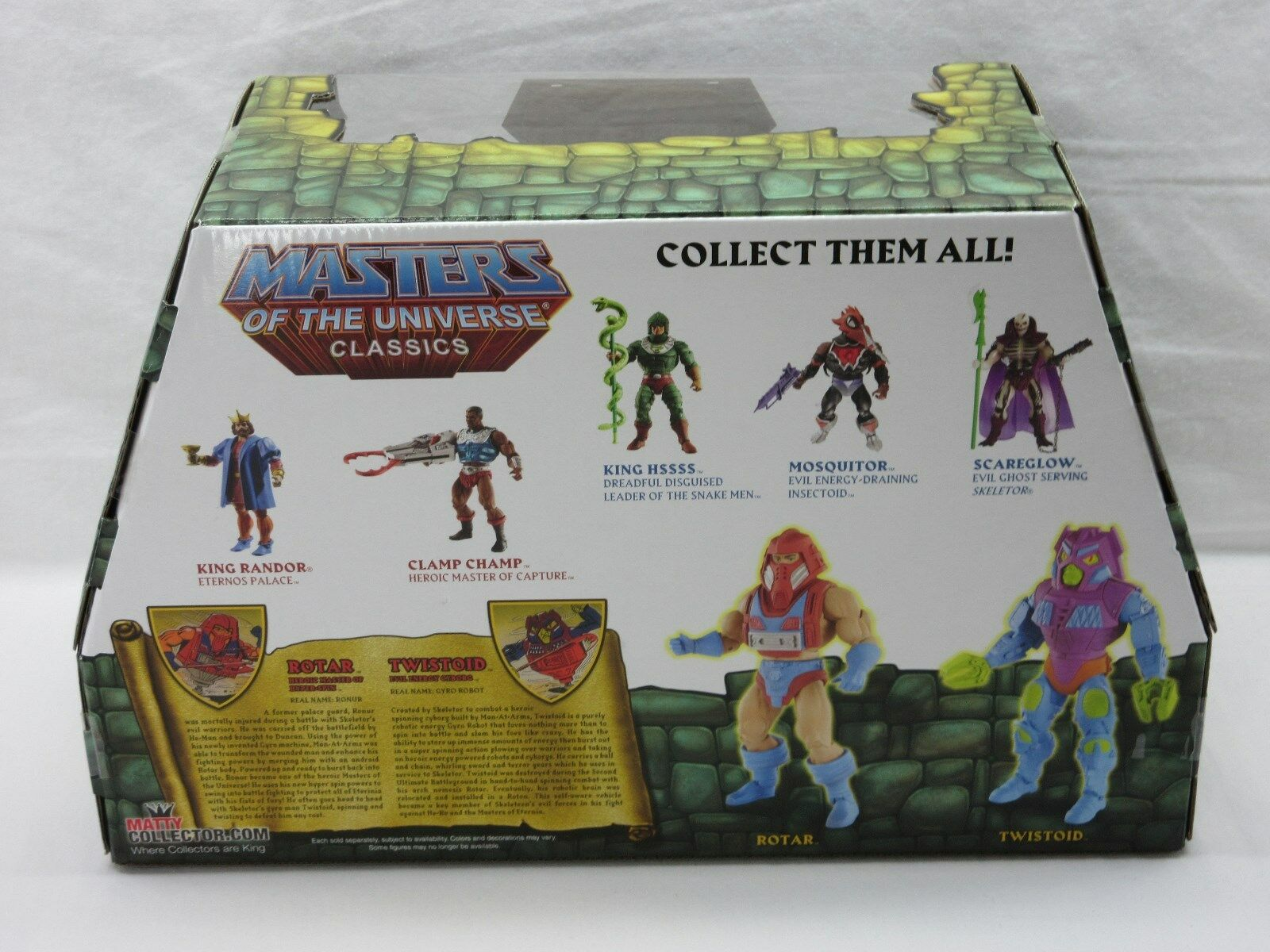 MOTU,MOTUC,ROTAR MOTU,MOTUC,ROTAR MOTU,MOTUC,ROTAR & TWISTOID,MASTERS OF THE UNIVERSE CLASSICS,MISB,SEALED,He-Man 950577