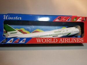 WOOSTER-MODEL-W211-CONCORDE-FREIGHT-747-400-1-250-SCALE-PLASTIC-SNAPFIT-MODEL