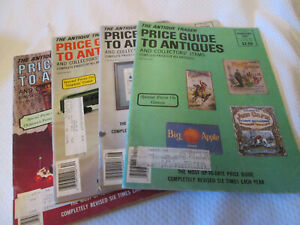 The Antique Trader Price Guide To Antiques Magazine 4 issues 1987