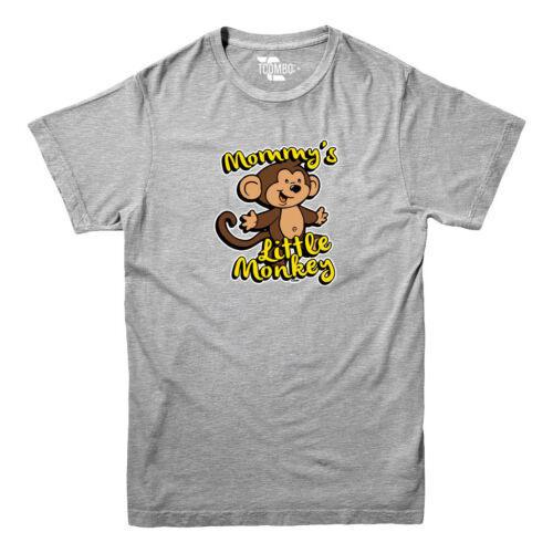Funny Youth T-shirt Mommy/'s Little Monkey
