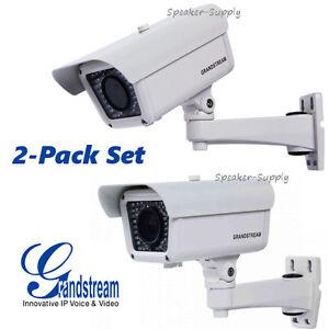 Details about MAKE OFFER 2 Grandstream Outdoor Vari-Focal IP Camera 3 1MP  1080p GXV3674-FHD-VF
