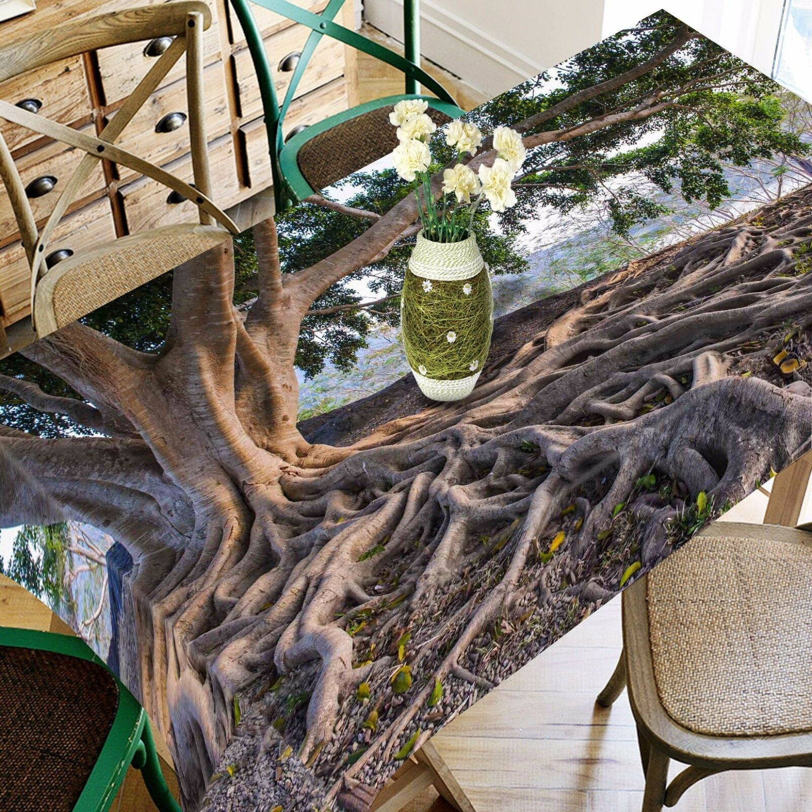 3D Tree root80 Tablecloth Table Cover Cloth Birthday Party Event AJ WALLPAPER AU