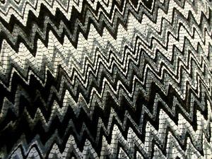 Missoni Orange Label Wool blend X-Long  zig-zag scarf  NEW WITH TAGS