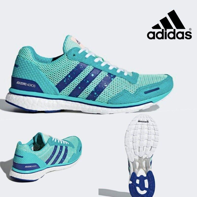 Adidas ADIZERO ADIOS 3 Women Running Neutral Shoes Sneakers CM8361 Men's SZ 4-12