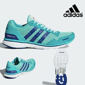 factory price b4caf 09c58 Image is loading Adidas-ADIZERO-ADIOS-3-Women-Running-Neutral-Shoes-