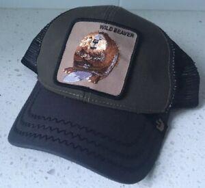 924c35d1dfa5e Image is loading GOORIN-Bros-Wild-Beaver-Trucker-SnapBack-Hat-Adjustable