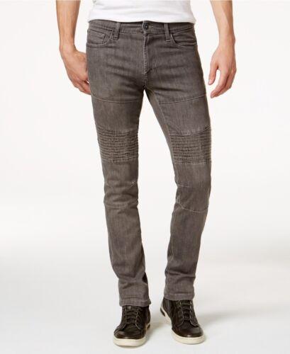 EX ROF Rexford UOMO SLIM FIT STRETCH Moto Jeans in Denim FLEX Jeans Stretch