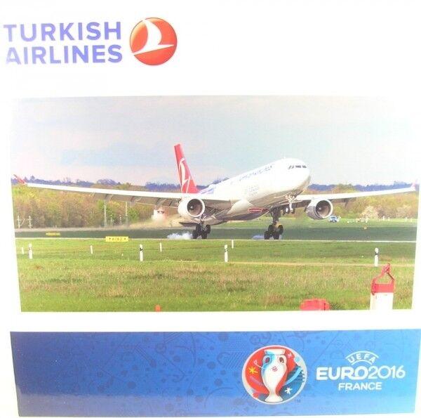 Airbus a330-300 TURCO AIRLINES - UEFA France (Reg. tc-joh)