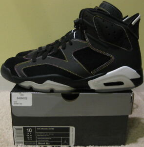 7783f7cc5f34 Nike Air Jordan VI 6 Retro 2010 Lakers 3M Black Purple Gold White ...