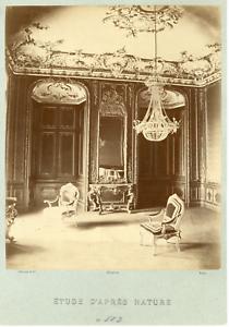 Ziegler-Paris-interieur-a-identifier-Vintage-albumen-print-Tirage-albumin