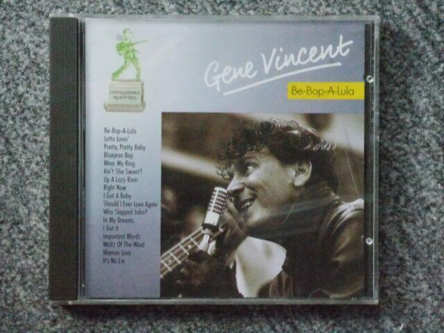 CD Gene Vincent – Be-Bop-A-Lula