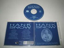 HANK SNOW/THE MASTERS(EAGLE/EAB CD 035)CD ALBUM