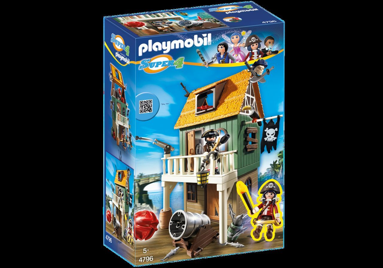 PLAYMOBIL® 4796 Getarnte Piratenfestung mit Ruby NEU OVP NEW MISB NRFB  | Moderne Technologie