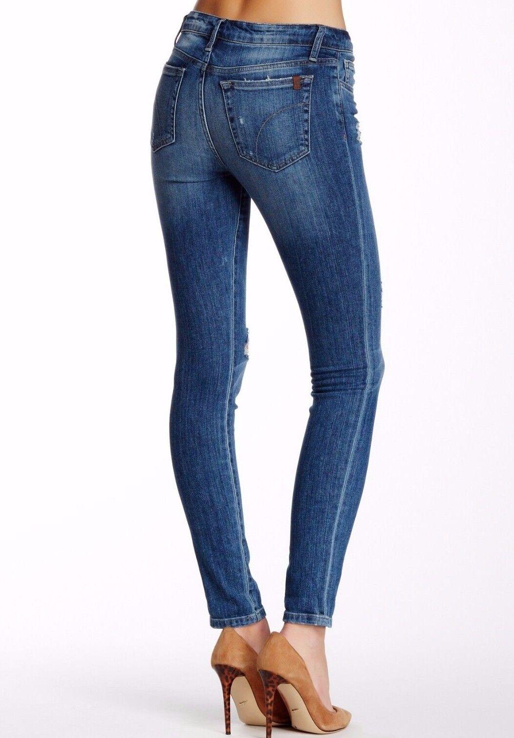 Nuova con Etichetta JOE'S Sz24 The Skinny Rolled Caviglia Midrise Midrise Midrise Jeans Stretch 5a8e0f
