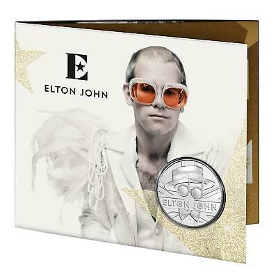 2020 Great Britain 1 oz Proof Silver Music Legends SKU#209428 Elton John