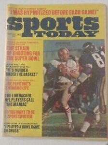 Pro Sports Magazine John Brodie Jerry West February 1972 051819nonrh