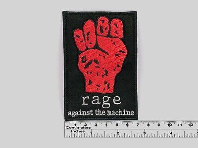 Toppa Aufnaher Rage Again The Machine Iron-On Patch