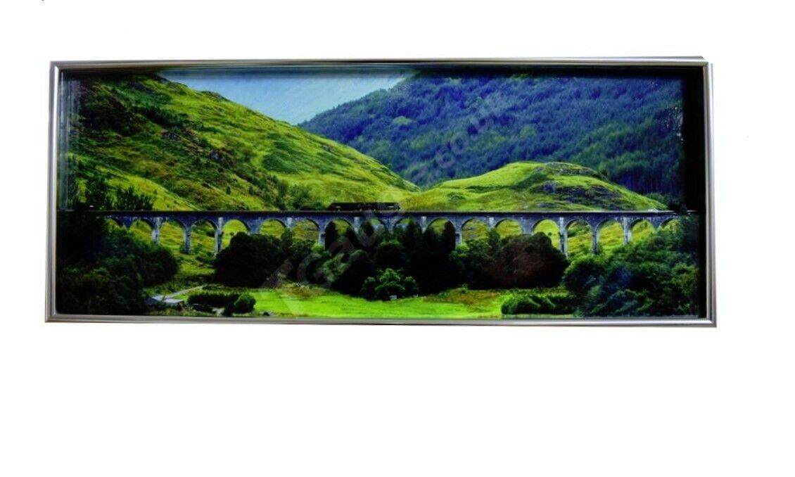 T Gauge Glenfinnan Viaduct Picture Frame Diorama S-075