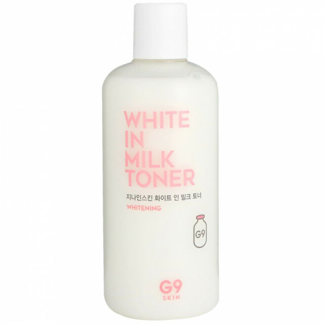 G9skin, White In Milk Toner, 300 Ml