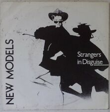 """NEW MODELS Strangers in disguise (LISTEN) 7"""" 1984 new wave-synth US BMC Belgium"""