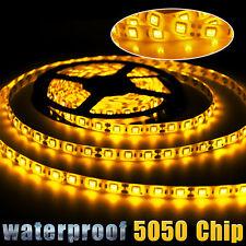5M/16.4ft Flexible LED Strip Light 5050 SMD 300leds Outdoor Lamp Waterproof 12V