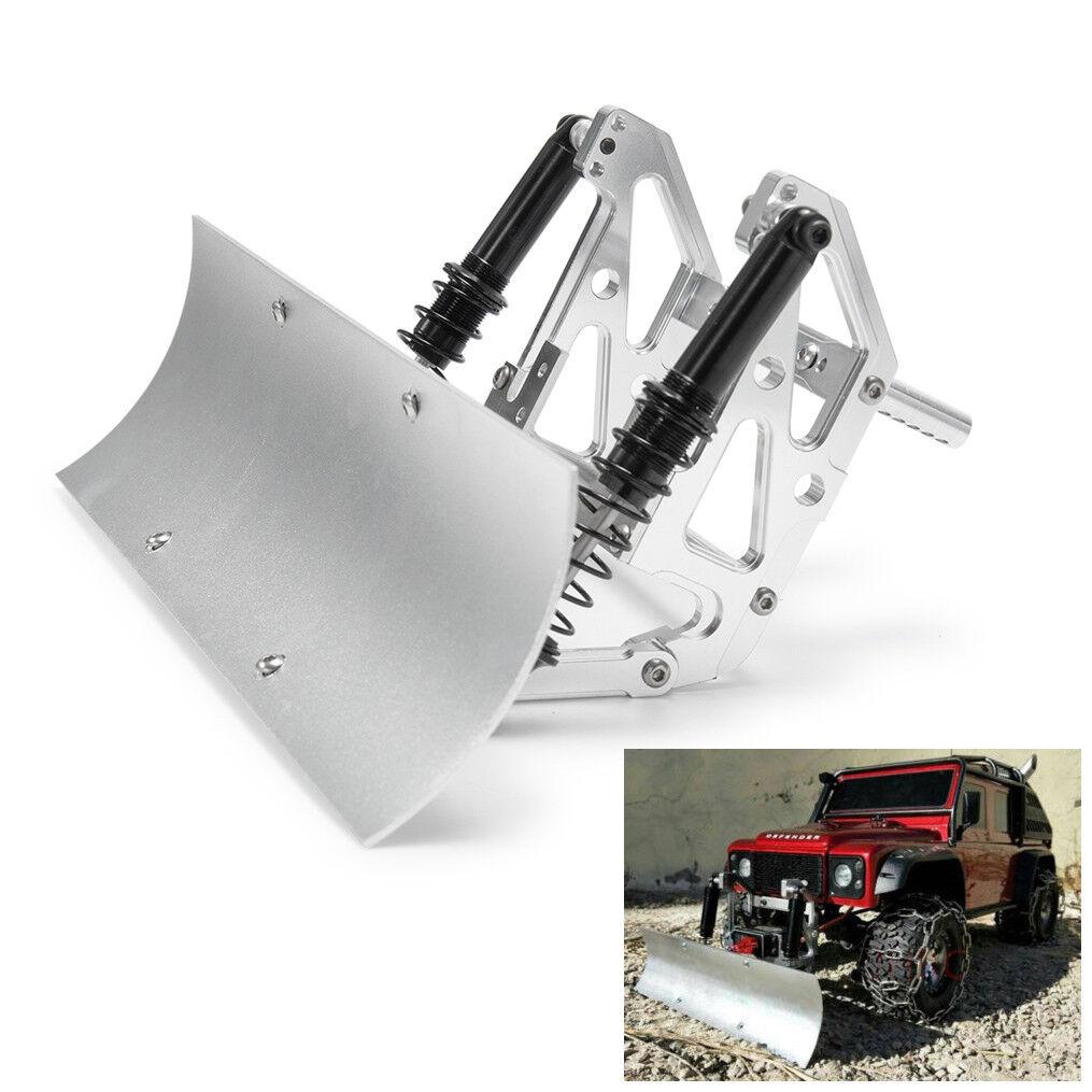 1x Alloy Snow Shovel Plow Blade for Axial SCX10 SCX10ll Traxxas TRX4 1 10 RC Car
