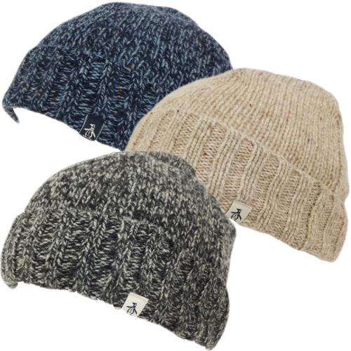 Mens Hats Original Penguin Beanie Winter Headwear
