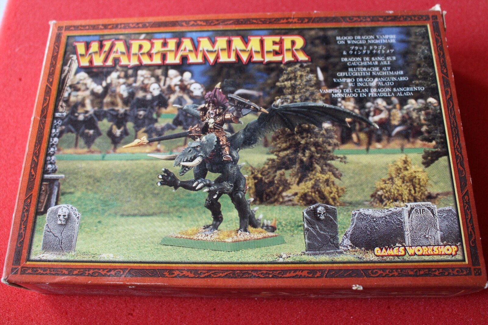 Games Workshop Warhammer Blood Dragon Vampire on Winged Nightmare Undead New GW