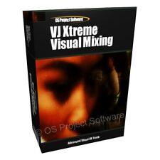 VJ Video SWF Edit Editing Visual Mixing Mixer Software Program CD-ROM
