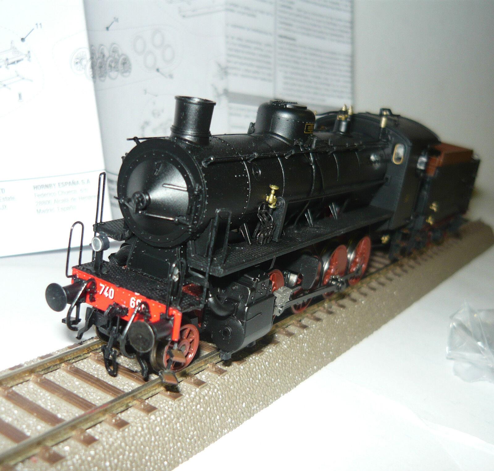 RIVAROSSI hr2483 locomotiva 740696 Caprotti delle FS con 3 ACH-Tender, h0, neu&ovp