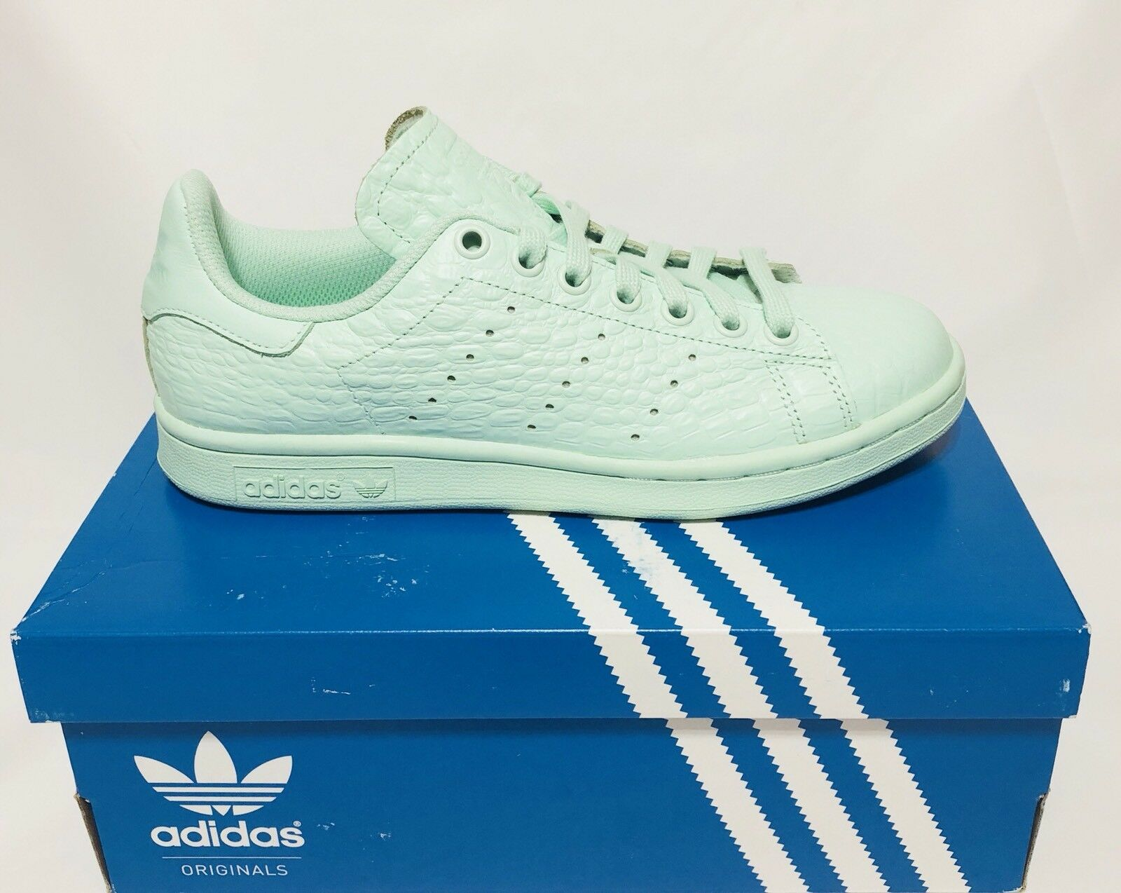 ADIDAS STAN SMITH W FROST GREEN Price reduction *NEW* Sz Brand discount