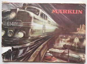 Originaler-Marklin-Katalog-D50-1950-Eisenbahn-Dampfmaschine-Spielzeug-K1