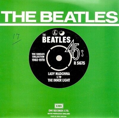 THE BEATLES Lady Madonna Vinyl Record 7 Inch Parlophone R 5675 1976 EX