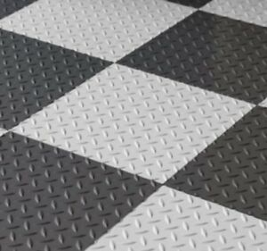 Vinyl Floor Mats >> Details About Garage Flooring Peel And Stick Tiles Best Grey Basement Vinyl Floor Mats 12x12
