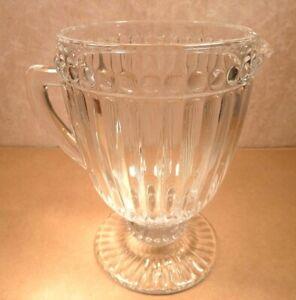 Vintage-Heavy-Glass-Jug