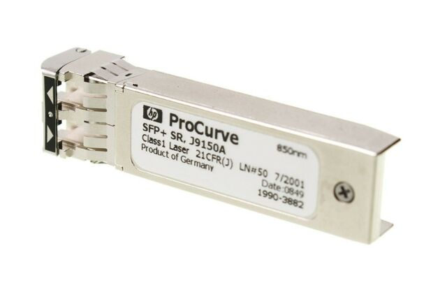 HP J9150A X132 10G SFP+ LC SR 850nm Transceiver Module - Brand new and Sealed